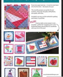 KimberBell Paper Piecing Throughout the Year book at Craft Warehouse