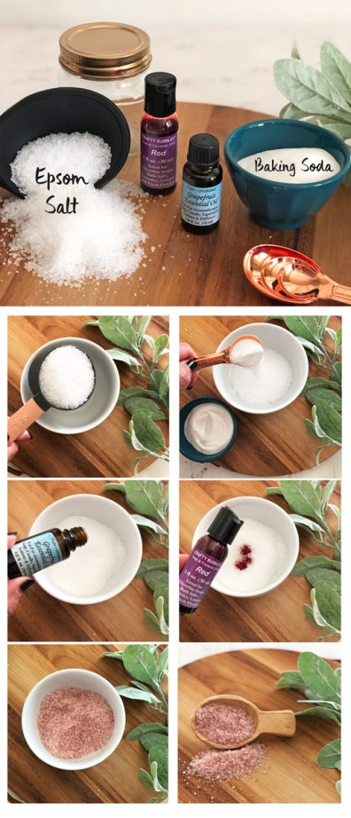 Bath Salts DIY How to