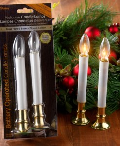 "6"" LED Taper Candle"