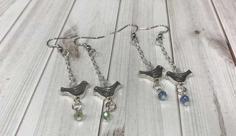 Bird on a Chain Earrings @ Salem Location | Salem | Oregon | United States