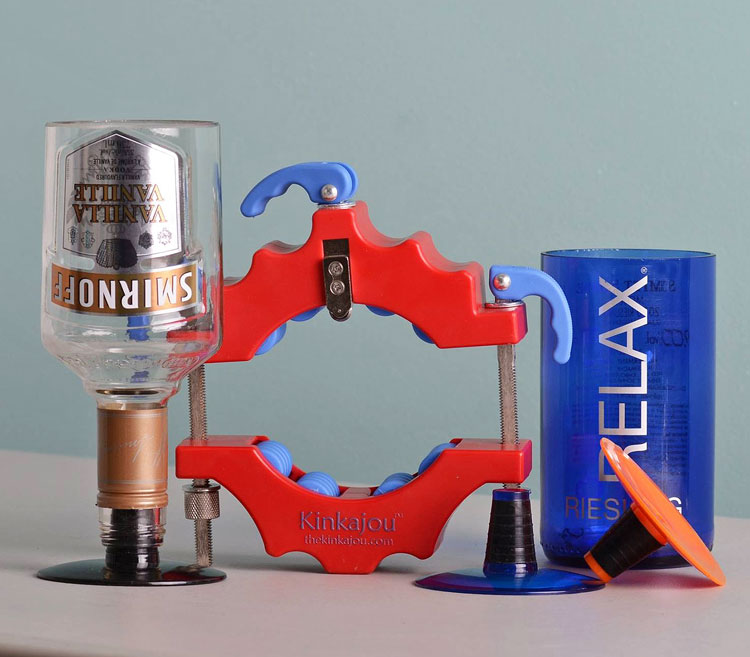 Create Custom Glassware from the Kinkajou Bottle Cutter