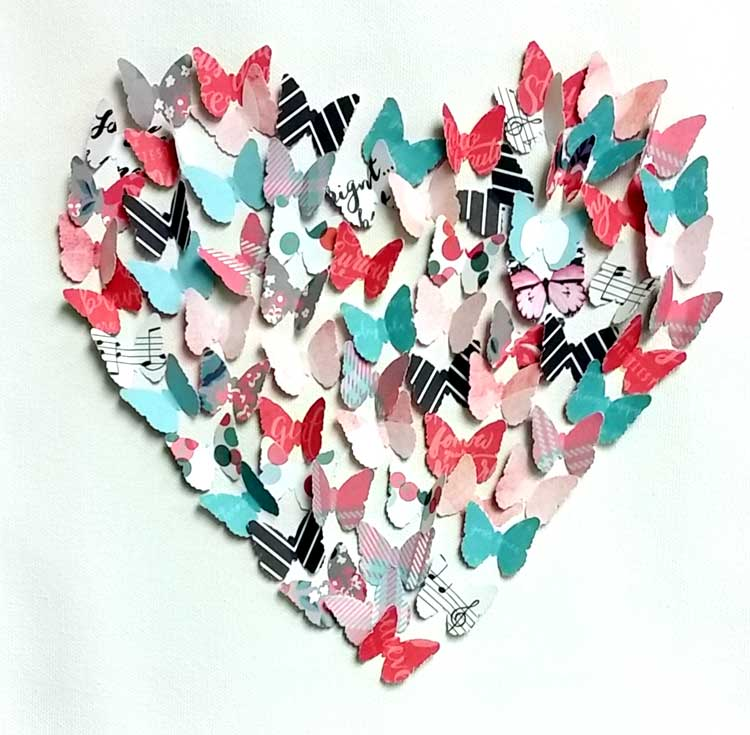 Butterfly Punch Canvas Make and Take
