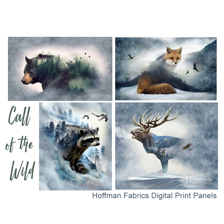 Call of the Wild Digital Print Fabric Panels at Craft Warehouse