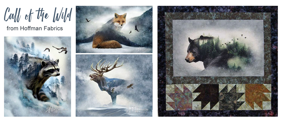 Call of the Wild Fabric Panels at Craft Warehouse