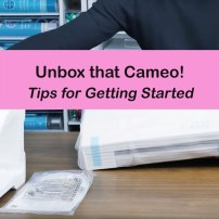 unboxing your silhouette cameo