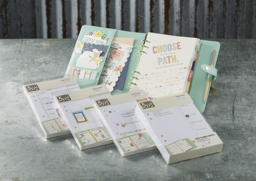 Pages for the Carpe Diem Planner at Craft Warehouse