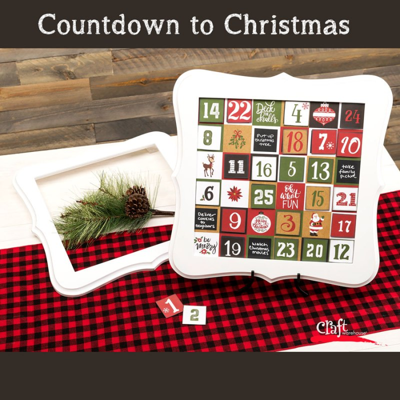 Make a Christmas Countdown Calendar