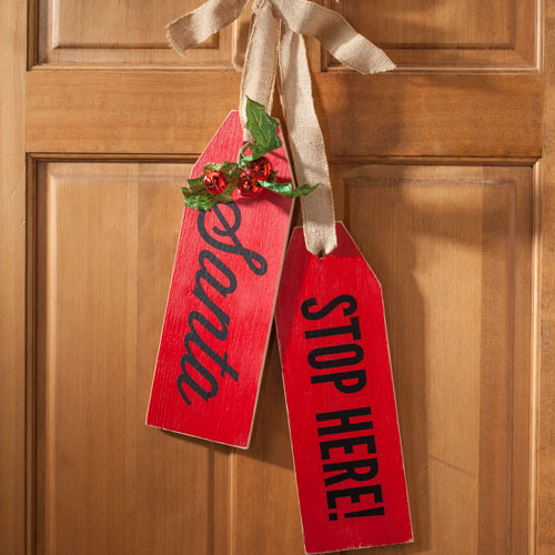 Christmas Large Wood tags