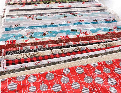 Lots of Christmas Cotton Fabrics at Craft Warehouse