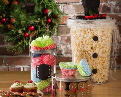 Christmas pails