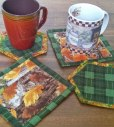Coasters made from precuts
