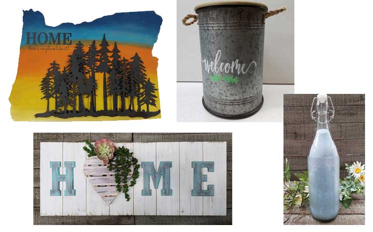 "Crafter's Night Out: ""Home is Where the Art is!"" @ Craft Warehouse @ Gresham Station 