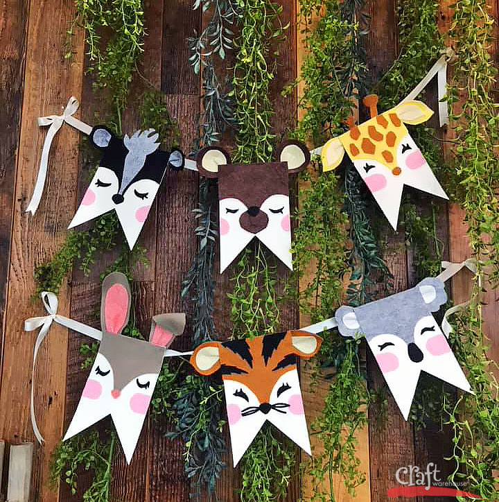 Make this Cute Critter Pennant