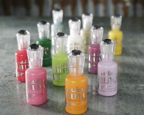 Nuvo Crystal Drops for making cards and scrapbooking at Craft Warehouse