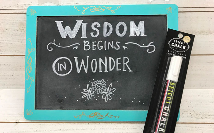 Chalkboard Sign @ Vancouver Location | Vancouver | Washington | United States