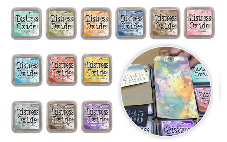 Tool Test Drive: Distress Inks+ Distress Oxides @ Hazel Dell Location | Vancouver | Washington | United States