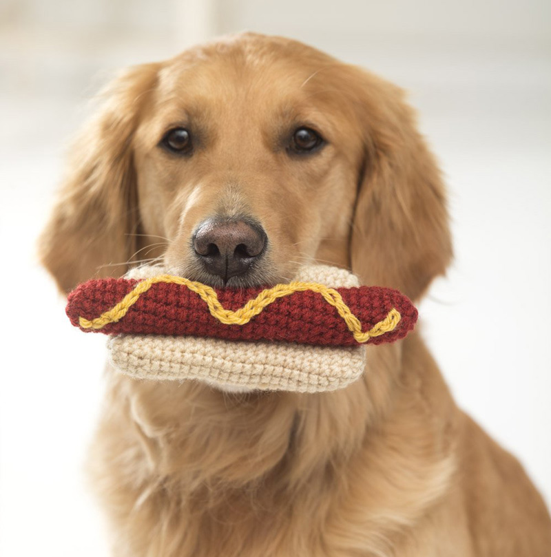 Crochet a Dog Toy