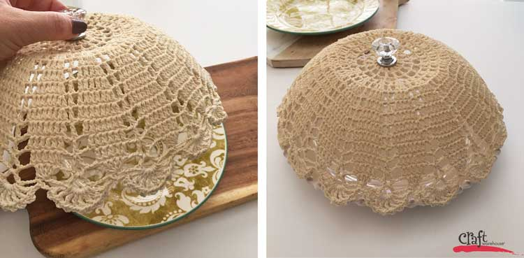 How to Make a Lace Doily Food Cover from Craft Warehouse