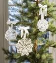 doily ornaments
