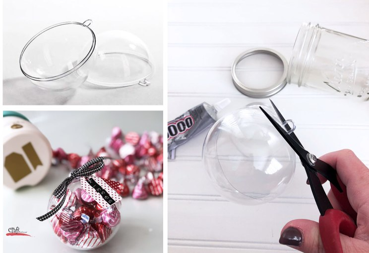 How to Make a Domed Mason Jar for Valentines Day
