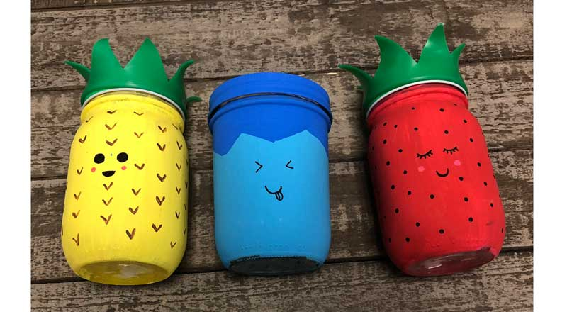 Kid's Camp: Fruit Mason Jars @ All Locations