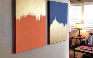 Make Good as Gold Canvas Art at Craft Warehouse