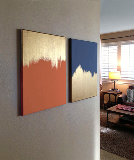 Make this Good as Gold Wall Art from Craft Warehouse