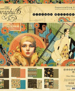 Graphic 45 Vintage Hollywood Paper Pads