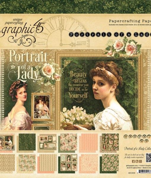 Graphic 45 Portrait of a Lady Paper Pads