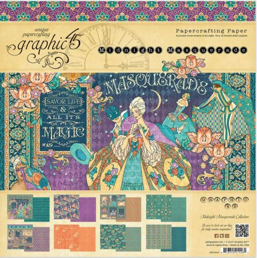 Graphic 45 Masquerade Paper Pads
