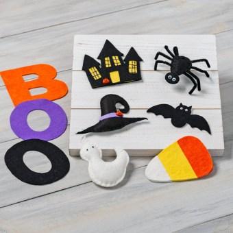 Halloween Felt Ornament Patterns at Craft Warehouse