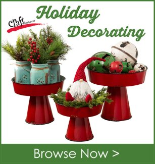 Craft Warehouse Holiday Decorating and Shopping Guide