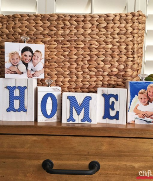 Make a Wood Block Sign for Any Occasion at Craft Warehouse