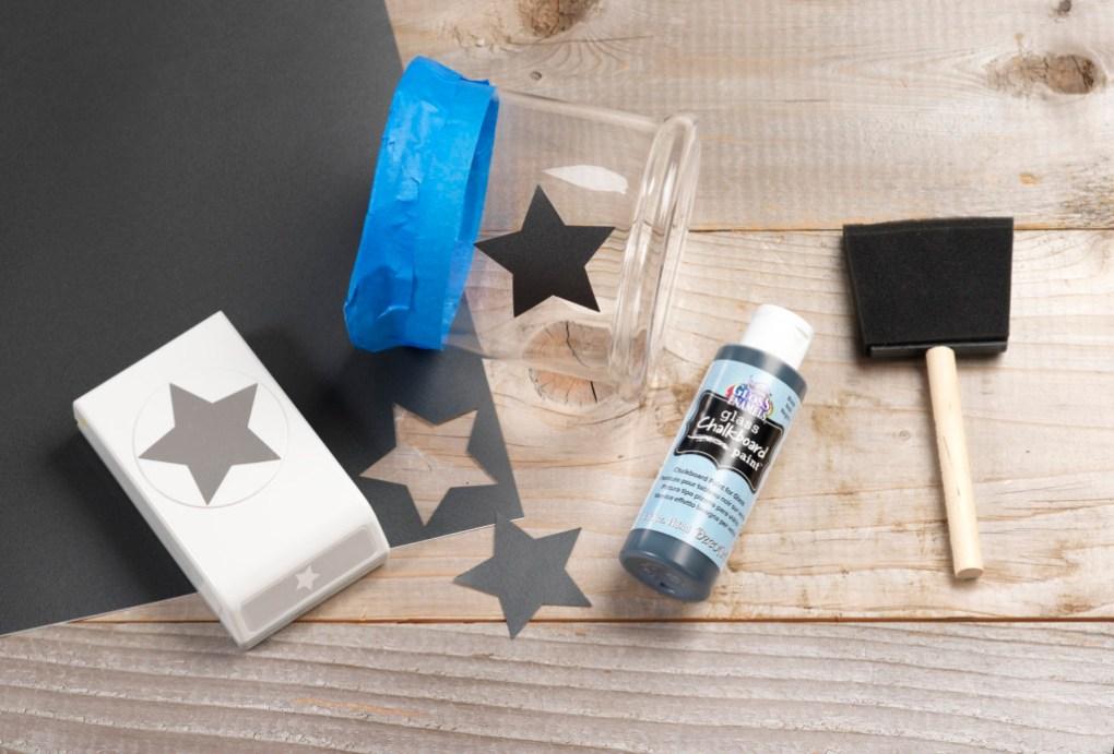 Chalkboard Candle Holder DIY