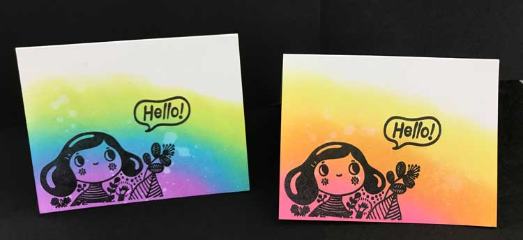 Blended Hello Card @ Vancouver Location | Vancouver | Washington | United States