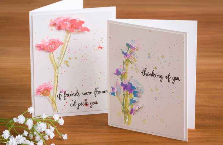 Inlay Floral Card Make & Take @ All Locations | Vancouver | Washington | United States