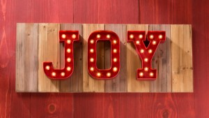 Heidi Swapp Marquee love letters sign joy holiday christmas