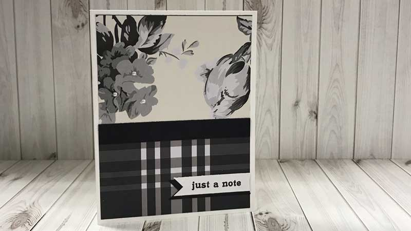 """Just A Note"" Card @ Salem Location 