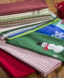 Snowman Kitchen Towel