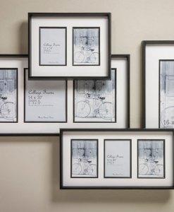 Black Collage Frames with Fillet