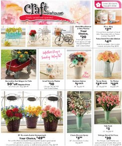 May Craft Warehouse Ad