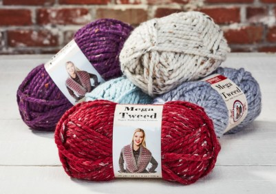 Mega Tweed Yarn available at Craft Warehouse