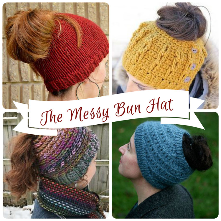 The Messy Bun Hat Trend at Craft Warehouse