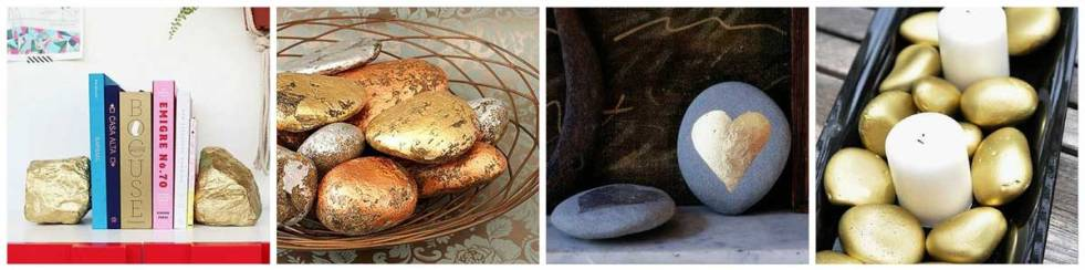 Paint Rocks Metallic for Instant Glamour from Craft Warehouse