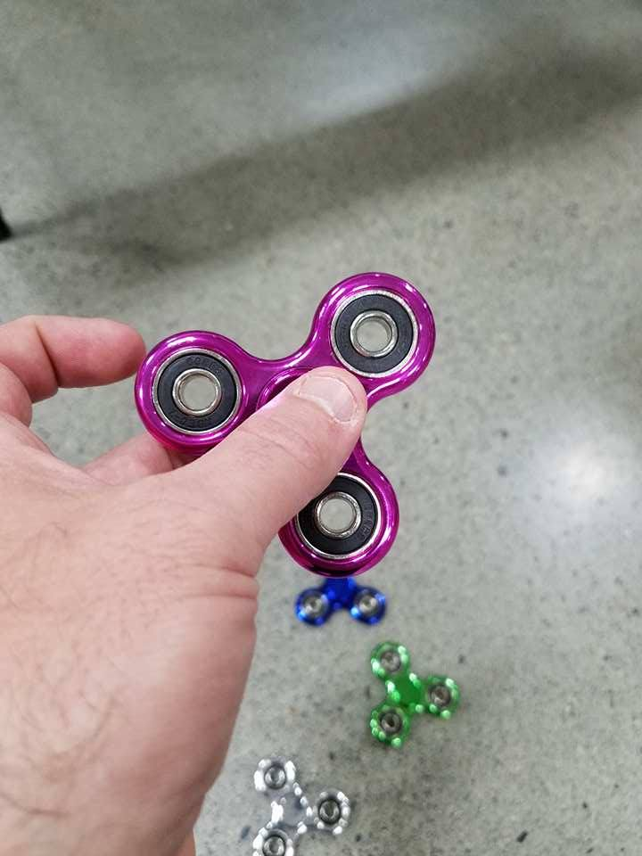 All kinds of Fidget Spinners in stock at Craft Warehouse