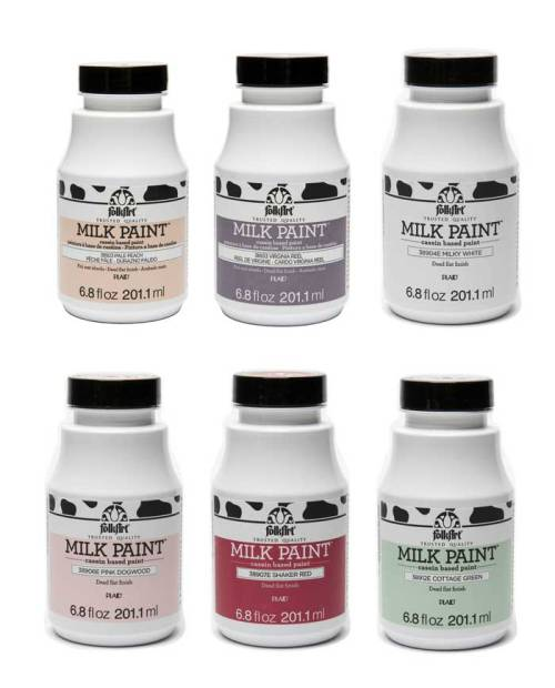Milk Paints by Folk Art available at Craft Warehouse