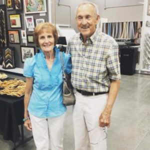 Sonja and Jerry Williams at Craft Warehouse
