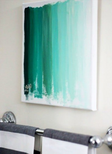 Ombre Canvas