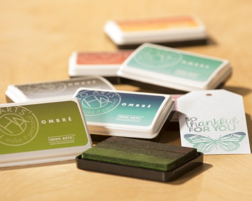Gorgeous Ombre Ink Pads for Card Making