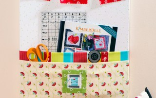 Sewing Room Organizer Board made by Craft Warehouse